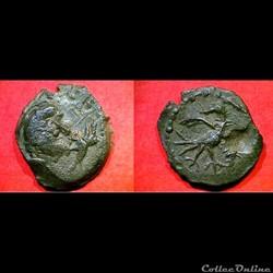 bronze à l'oiseau à droite 9