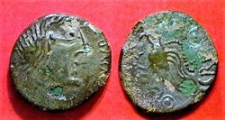 bronze à l'aigle et au lézard ( 3 )