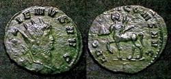 GALLIEN - centaure à gauche et globe