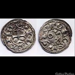 DENIER DE GUILLAUME III TAILLEFER (998/1...