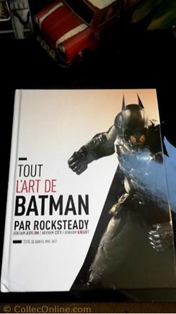 Artbook, Tout l'art de Batman par Rockst...
