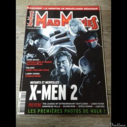 Mad Movies Magazine N°150 - X-Men 2