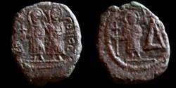 Sear 610 - Demi Follis de Justin II et S...