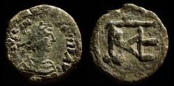 Centenionalis de Justinien émis à Cherso...