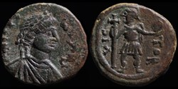 Pentanummium de Justinien émis à Cherson...