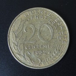 20 centimes 1982