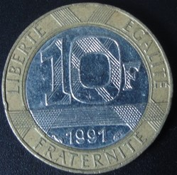 10 Francs 1991