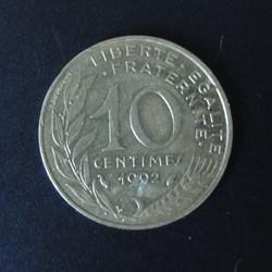 10 centimes 1992
