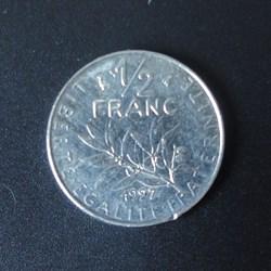1/2 Franc 1997
