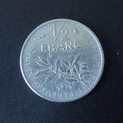 1/2 Franc 1971
