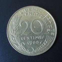 20 centimes 1988