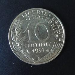 10 centimes 1997