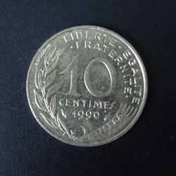 10 centimes 1990