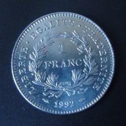 1 Franc 1992
