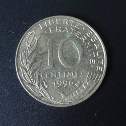 10 centimes 1996