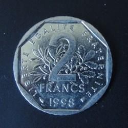 2 Francs 1998
