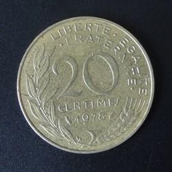 20 centimes 1978