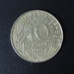 10 centimes 1995