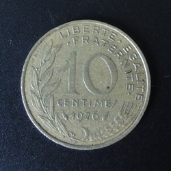 10 centimes 1976