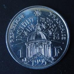 1 Franc Institut de France 1995