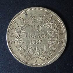 20 Francs 1857