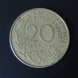 20 centimes 1969