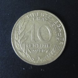 10 centimes 1986