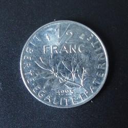 1/2 Franc 1995