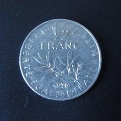 1/2 Franc 1978