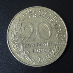 20 centimes 1985