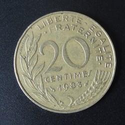 20 centimes 1983