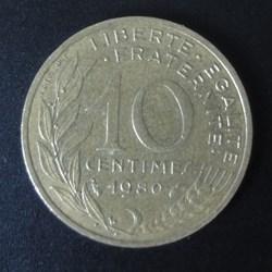 10 centimes 1980