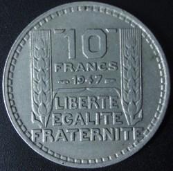 10 Francs Turin 1947