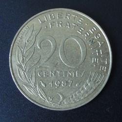20 centimes 1987