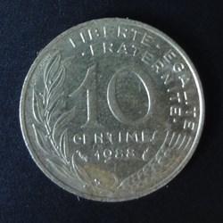 10 centimes 1988