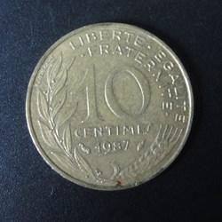 10 centimes 1987