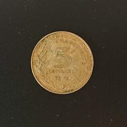 5 centimes 1975