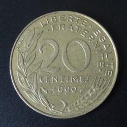 20 centimes 1990