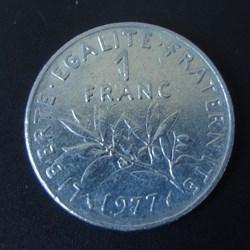 1 Franc 1977