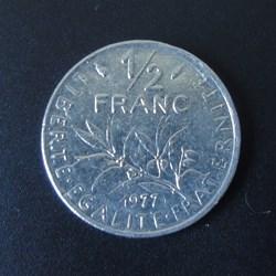 1/2 Franc 1977