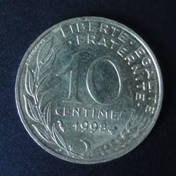 10 centimes 1998