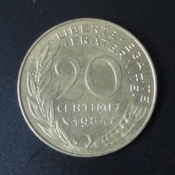 20 centimes 1984