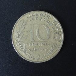 10 centimes 1983