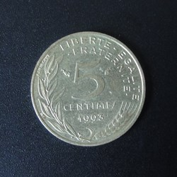 5 centimes 1993