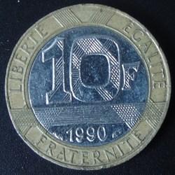10 Francs 1990
