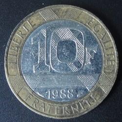 10 Francs 1988