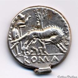 monnaie antique romaine sex pompeius
