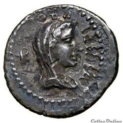 MARCUS JUNIUS BRUTUS (Quintus Cæpio Brutus) / LUCIUS SESTIUS