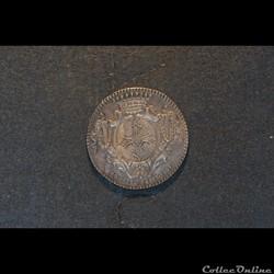 Jeton D'Occitanie Louis XV 1771 argent