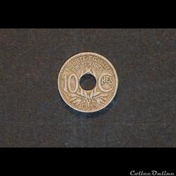 10 Cts Lindauer 1925